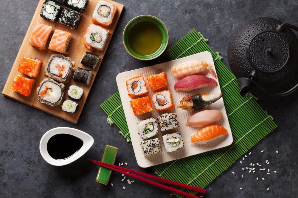 Authentisches Sushi Selber Machen Alle Zutaten Fur Maki Nigiri