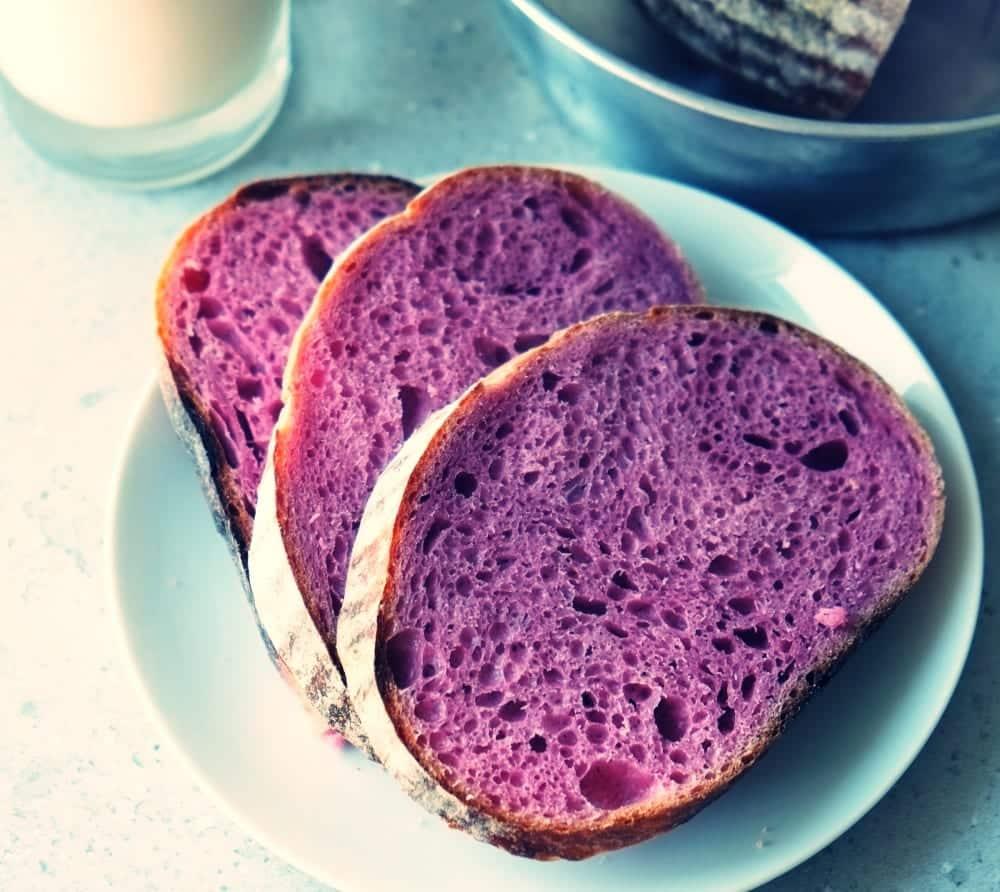 Die Ube-Wurzel - natürliche Farbe für leuchtend-lila Lebensmittel ...