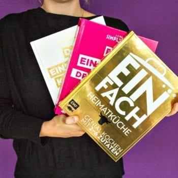 Das einfachste Kochbuch der Welt – Dessertbuch, Heimatküche und Deluxe Edition: Richtig kochen mit maximal 6 Zutaten | Miomente Entdeckermagazin
