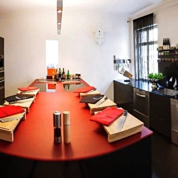 Kochschule Stuttgart - Küche 1 oben