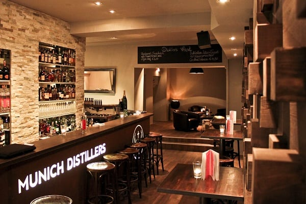 Munich Distillers – Bar und Destillerie in München Schwabing