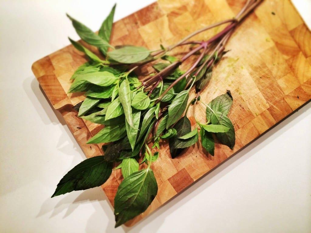 Thaibasilikum-Küchenkräuter