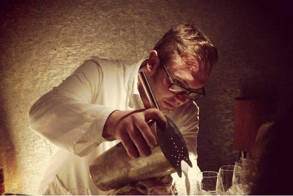 Cocktail-Experte Severin Köhl
