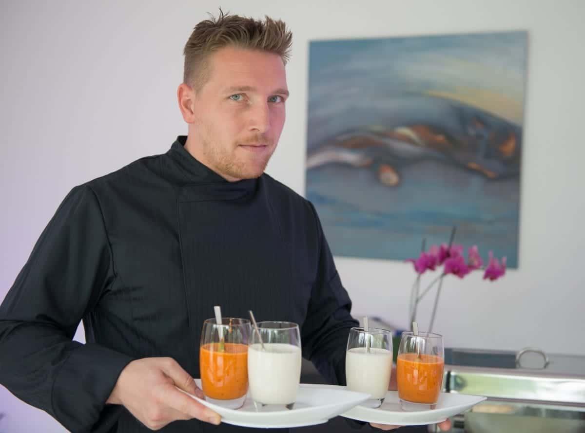 Profi-Koch und Inhaber Ernesto Rogge von der Genussmanufaktur eXacto