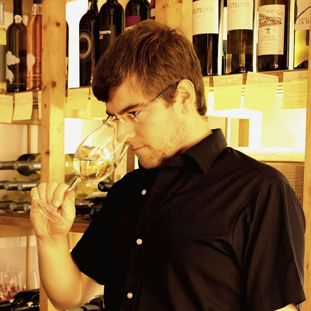 Weinfachberater Dominik Franz