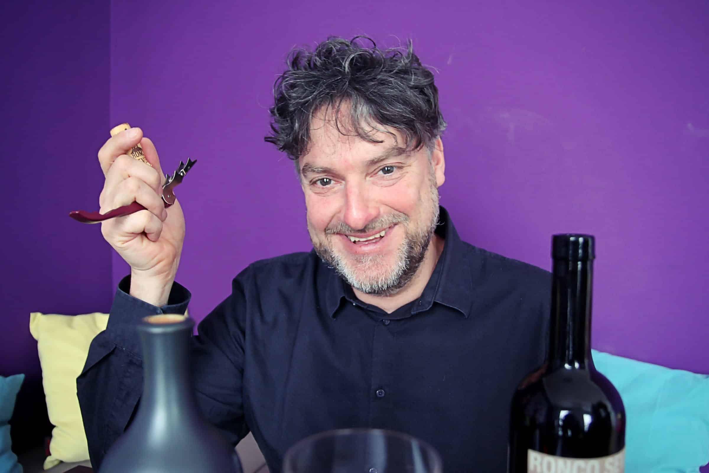 Weinexperte Wolfgang Baumeister