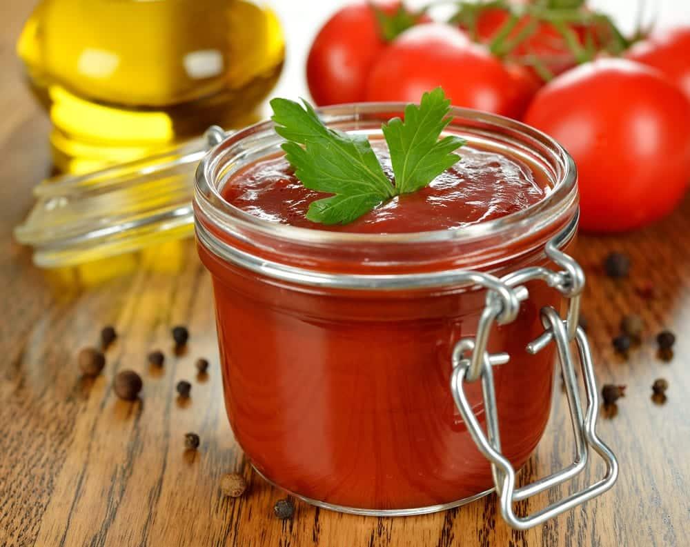 selbst gemachte Tomatensauce