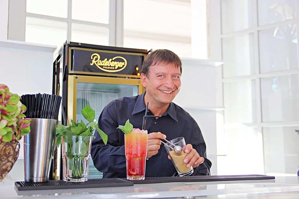 Cocktail-Experte Tilo Erdmann