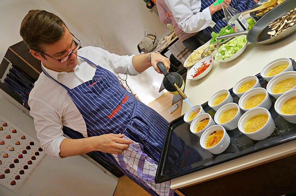 Kochatelier Wien von Thomas Hüttl –Kochkurse im 5. Bezirk