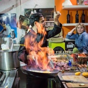 Italienischer Kochkurs in der Vesbar München