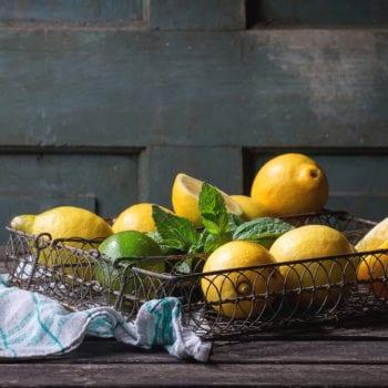 Zitrusschalen sind beliebte Botaincals in Gin