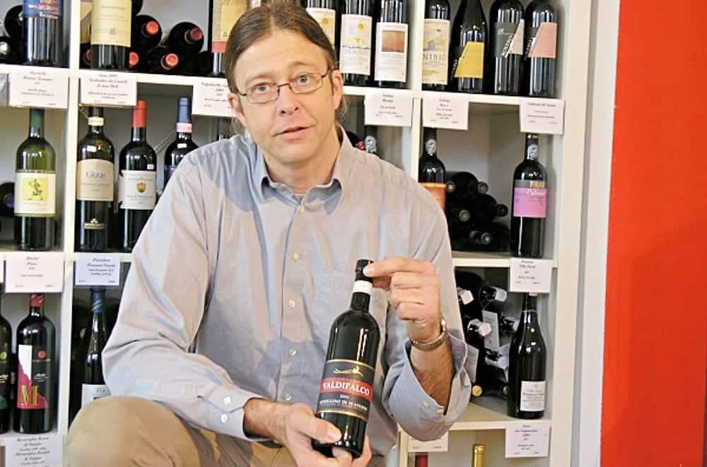 Weinexperte Uli Scheffler