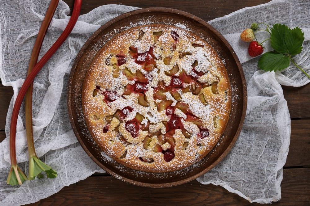 Rezept für Rhabarberkuchen