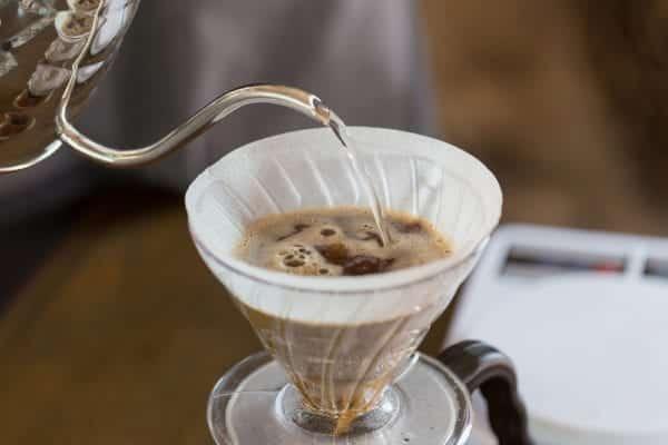 Handfilter für die Zubereitung von Kaffee