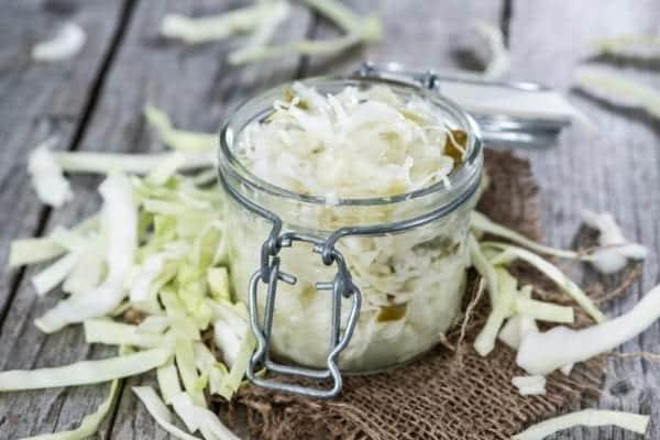 Sauerkraut wirkt verdauungsfördernd