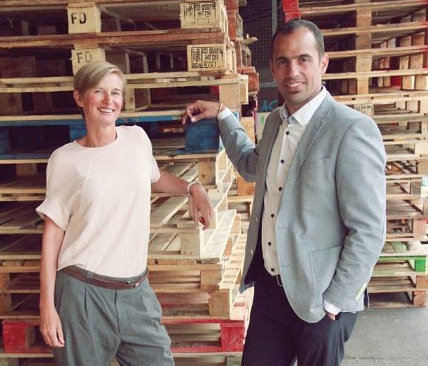 Story-Teller Katrin Frische und Matias Puga