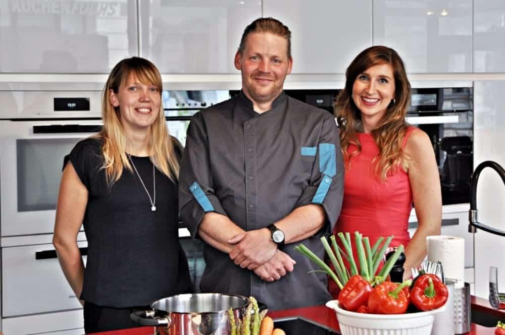 Kochkurse in Leipzig an der Kochschule Küchenfuchs - Koch Patrick Frensch und Eventmanagerin Katja Erler | Miomente Entdeckermagazin