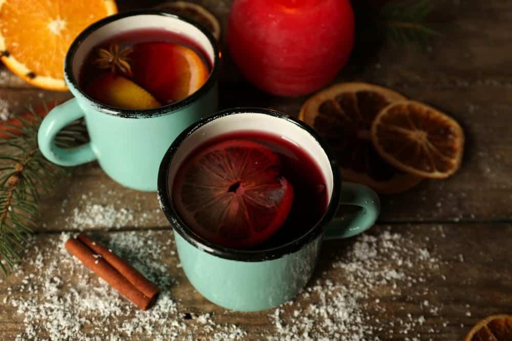 Alkoholfreier Punsch für kalte Wintertage.