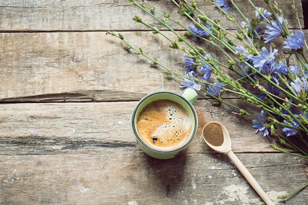Für den Extrakick sorgt Chicoree-Pulver im Kaffee.