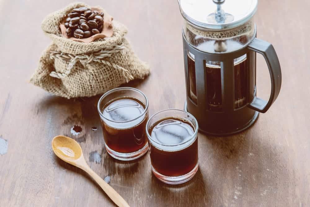 Die French Press sorgt für ein vollmundiges Kaffeearoma.