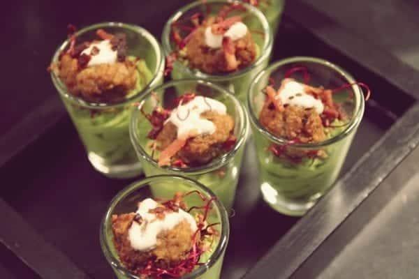 Entdeckermagazin Redaktion kostet Jamie Olivers Köstlichkeiten