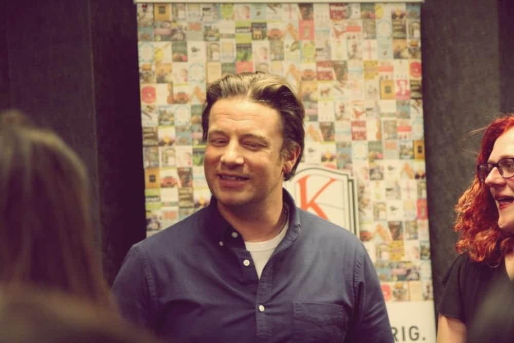 Entdeckermagazin Miomente beim Meet & Greet mit Jamie Oliver