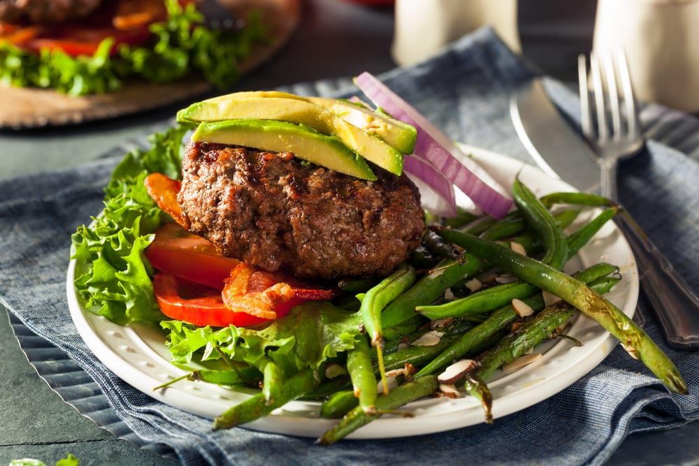 Paleo-Rezept: Low-Carb-Burger