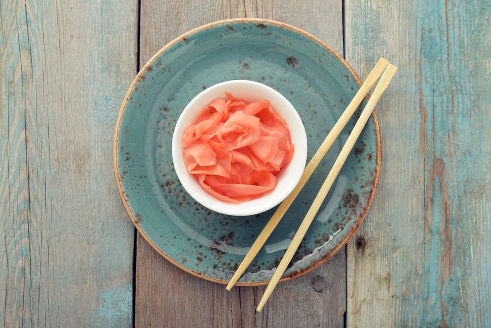 Eingelegter Ingwer - Zutaten für Sushi