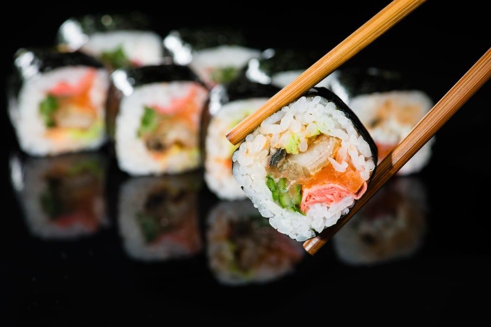 Futo-Maki - Sushi mit mehr als 2 Zutaten