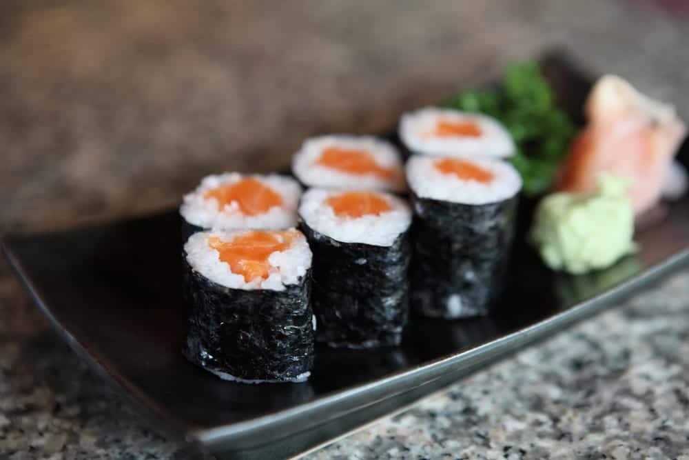 Hoso-Maki - kleine Sushirollen