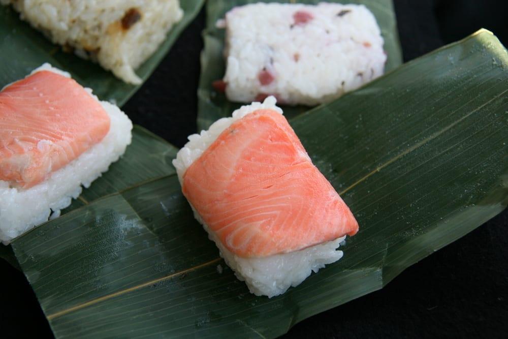 Oshi-Sushi - gepresstes Sushi