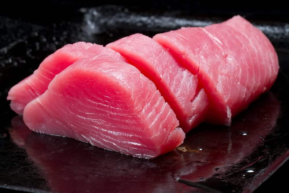 Roher Thunfisch für Sushi - Zutaten Sushi