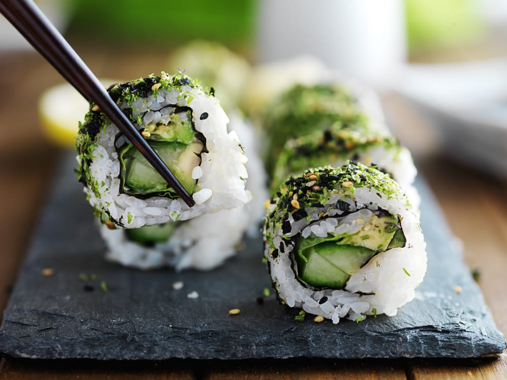 Gurke für Sushi - Sushi selber rollen