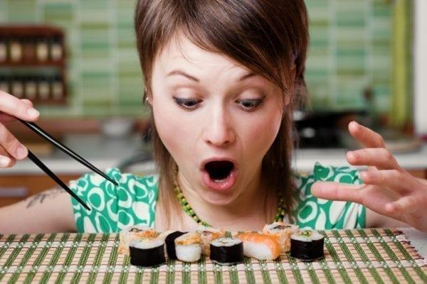 Sushi richtig essen - unsere kleine Japankunde