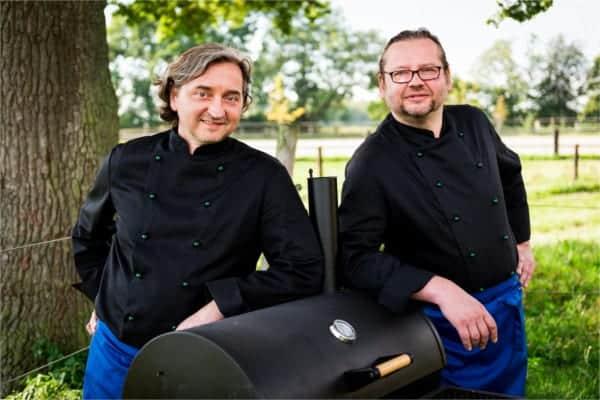 Köche Dirk Rathoff und Gregor Stix