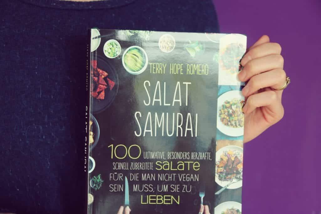 Salat Samurai von Terry Hope Romero erschienen im Narayana Verlag - Entdeckermagazin - Miomente