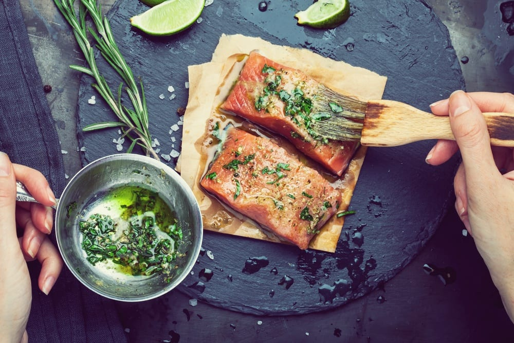 Angrillen: Mariande-Rezept für Lachs zum Grillen - Entdeckermagazin - Miomente