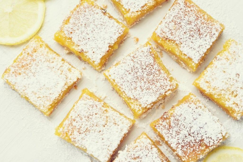 Rezept: Lemon Bars - Entdeckermagazin - Miomente