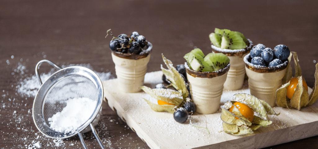 Rezept für Mini-Obst-Törtchen - Fertige Törtchen | Miomente Entdeckermagazin