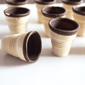 Rezept für Mini-Obst-Törtchen - Waffeln mit Schokolade   Miomente Entdeckermagazin