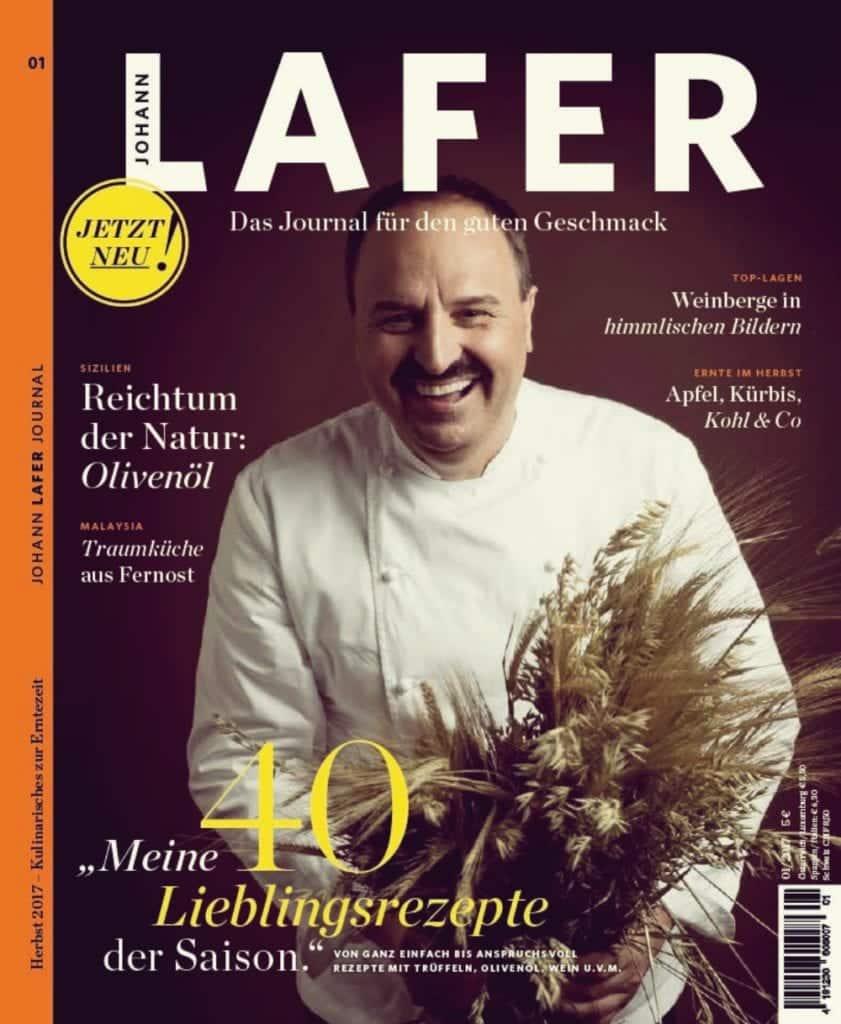 Johann Lafer im Interview mit Miomente 8 - Entdeckermagazin - Miomente
