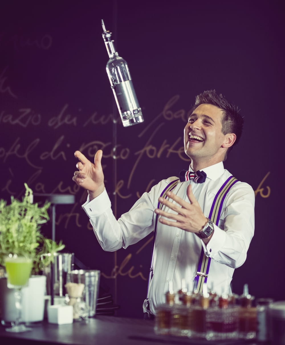 "Bar Manager Roman Kern vom ""The Charles Hotel"""