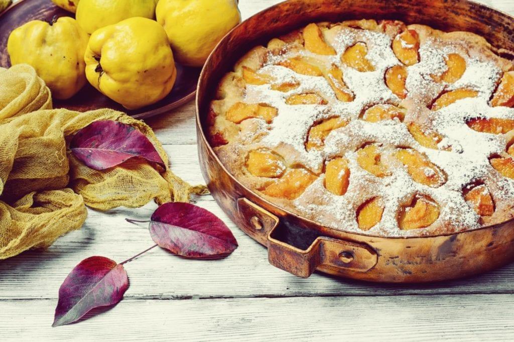 Rezept: Quitten-Kuchen – Backen mit Quitte - Entdeckermagazin - Miomente