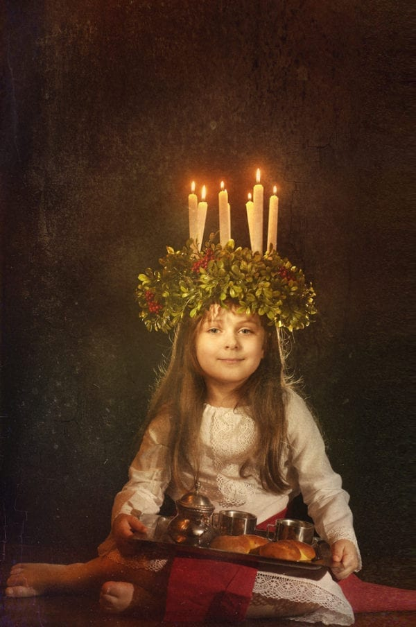 Lichterfest Luciatag Schweden