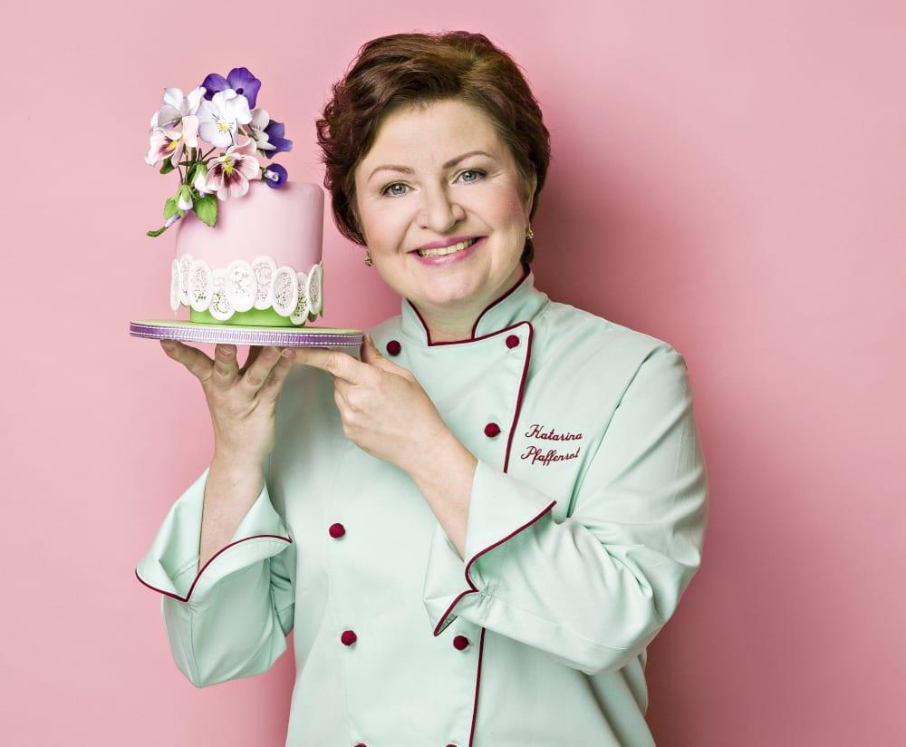 Torten-Designerin Katarina Pfaffenrot