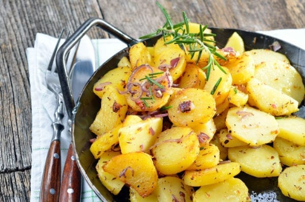 Wie mache ich Bratkartoffeln - Step by Step