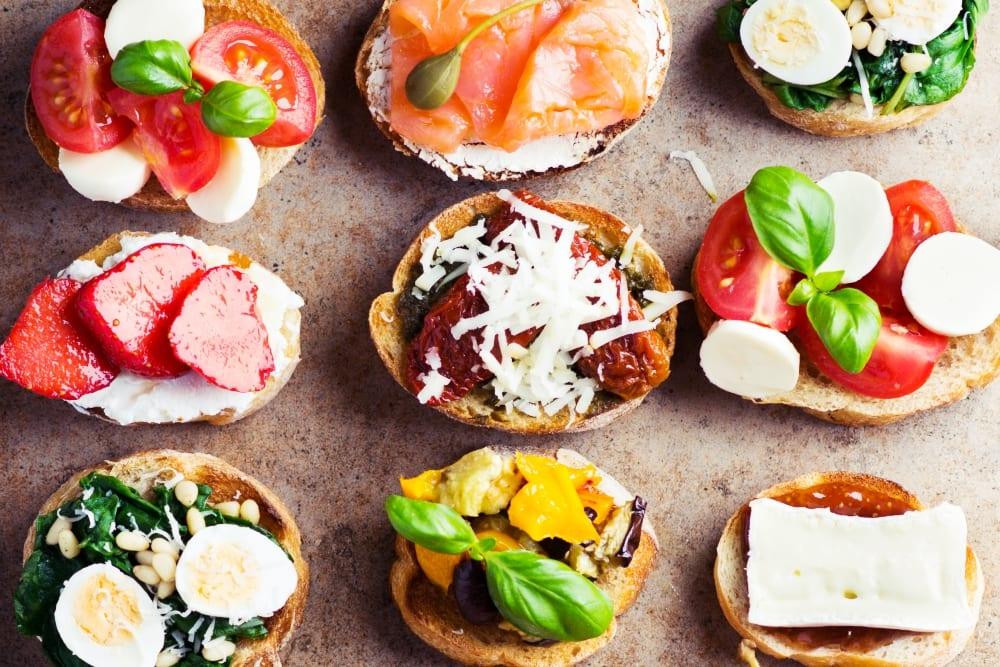 typisch italienisches frühstück