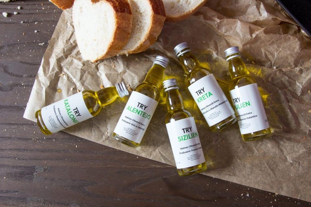 Entdeckermagazin testet Try Olivenöl von Try Foods - Miomente