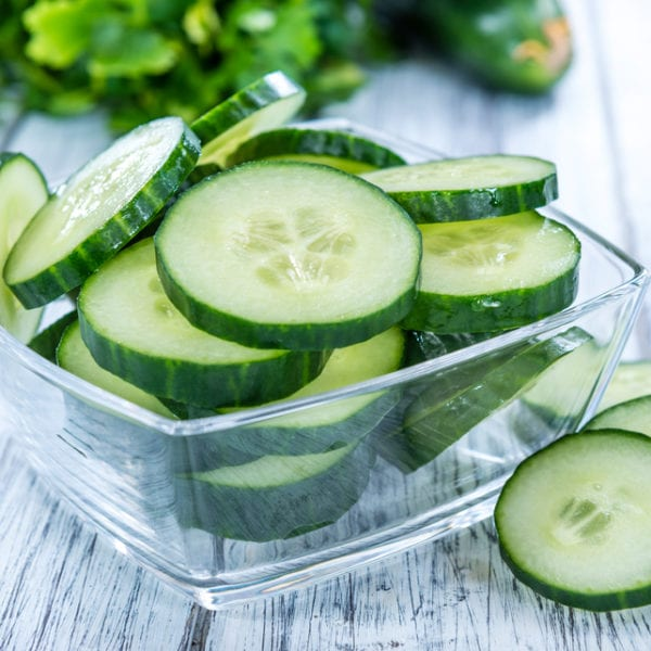 Biogurken für Gurkensuppe