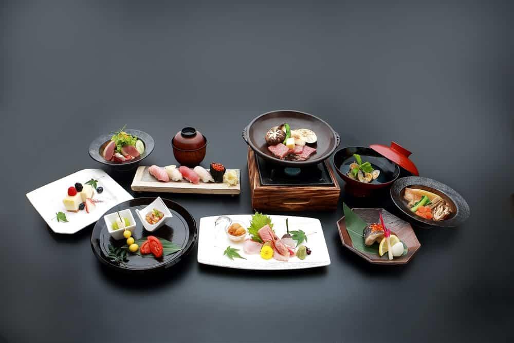 Mehrgängiges Kaiseki-Menü